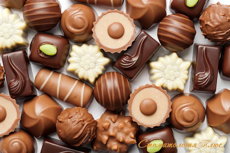Мягкая и сладкая пища дает начало мягкому налету на зубах